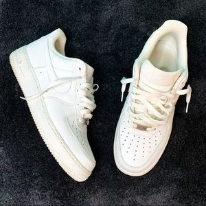 Nike Air Force Ones White Mens 8.5 Womans 10